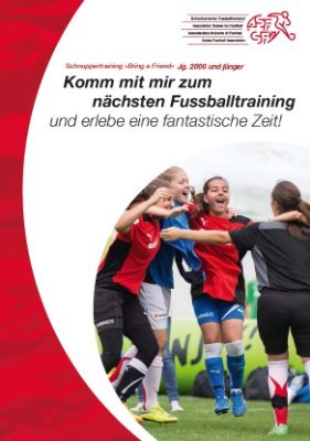 Bring a Friend - Juniorinnen Schnuppertraining